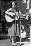 A young Lui on stage in the 1970's